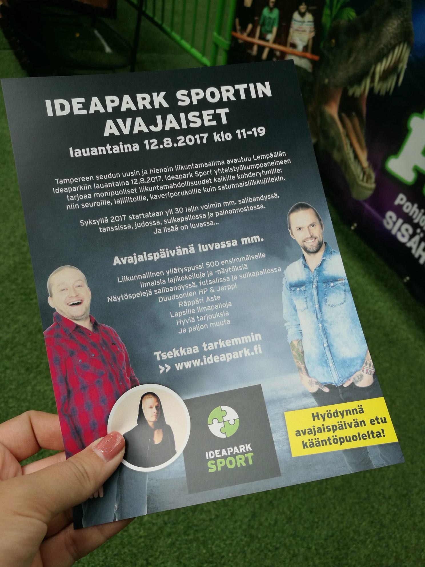 Ideapark Avajaiset